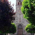 Eingang der Kirche in Binningen