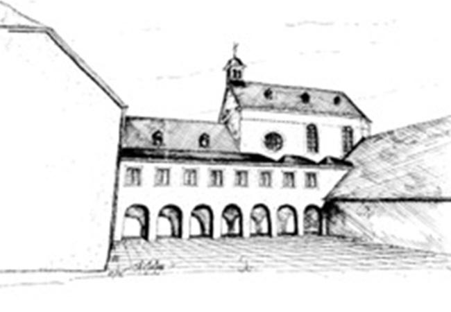 Kloster Rosenthal Innenhof